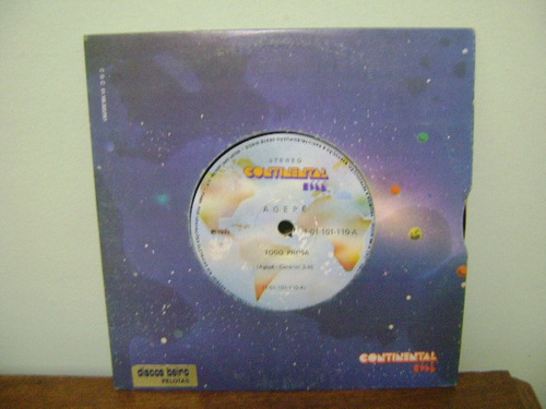 disco compacto vinil lp agepê - moro onde não mora 1974