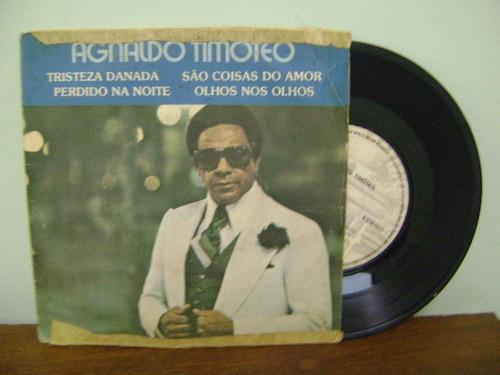 disco compacto vinil lp agnaldo timóteo tristeza danada 1976