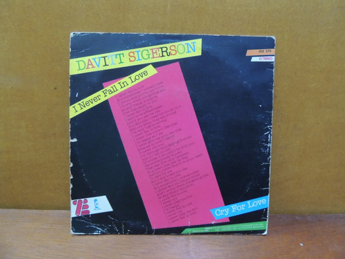 disco compacto vinil lp - davitt sigerson 1980