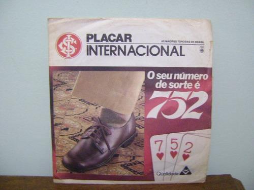 disco compacto vinil lp futebol internacional placar 752