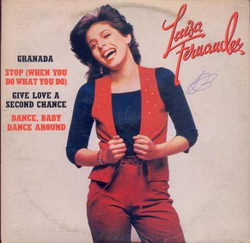 disco compacto vinil lp luisa fernandes 1979