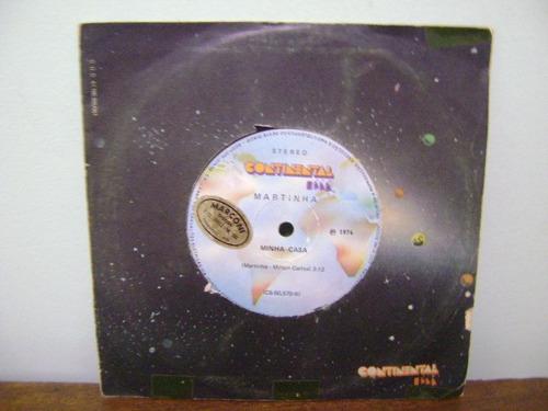 disco compacto vinil lp matinha minha casa 1974