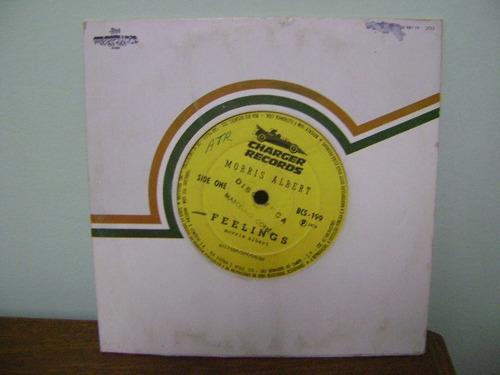 disco compacto vinil lp morris albert feeling 1974