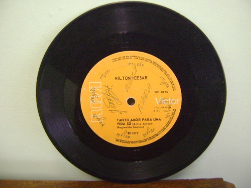 disco compacto vinil lp - nilton cesar 1972