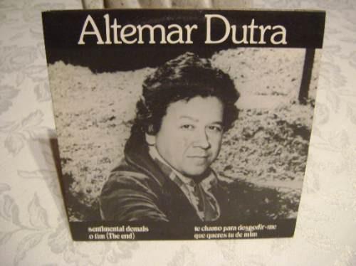 disco compacto vinil - não é lp - altemar dutra - 1978