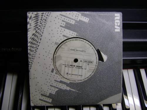 disco compacto vinil - não é lp - josé augusto - 1981
