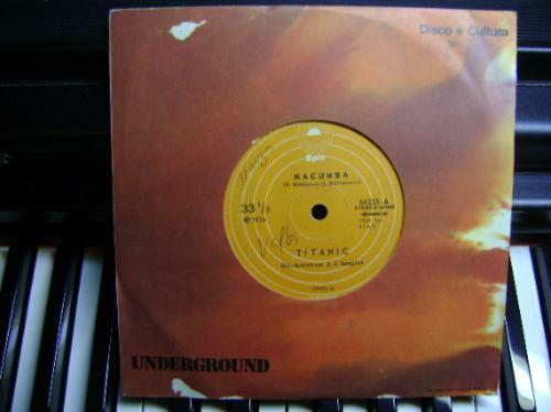 disco compacto vinil - não é lp - titanic - 1974