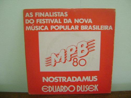 disco compacto vinil nostradamus eduardo dusek mpb 80