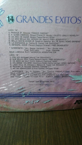 disco compilado come ti amo 14 grandes exitos