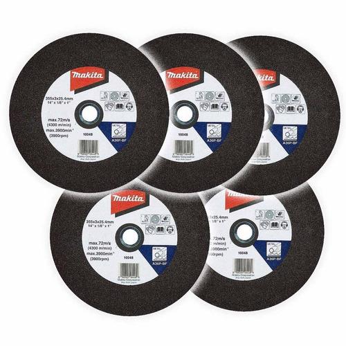 disco corte / 14pulg. pack x 5 discos 30% / abrasivos/makita