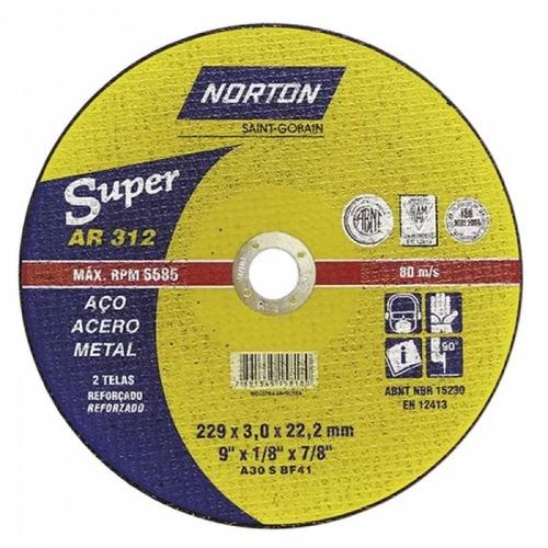 disco corte 9 x1/8 x7/8  2 tela