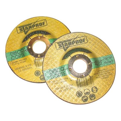 disco corte concreto 4.1/2*1/8*7/8 stanprof