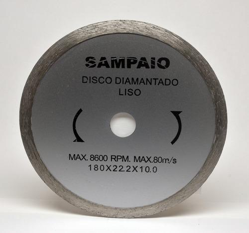 disco corte diamantado liso 180 x 22.2 x 10.0
