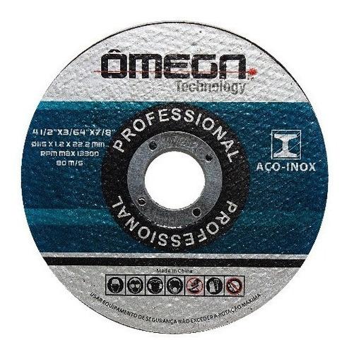 disco corte fino omega (50) peças