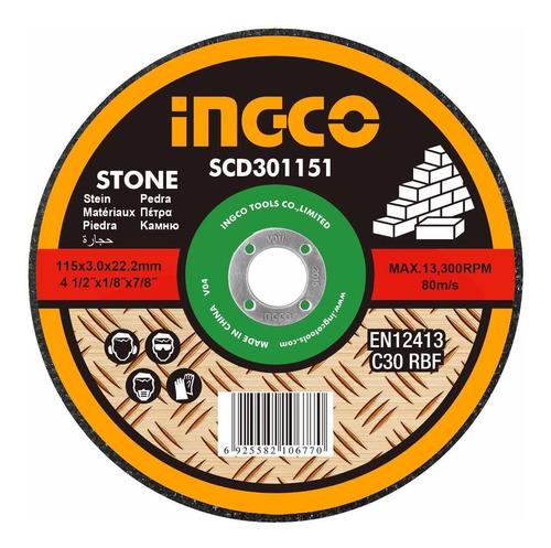 disco corte mamposteria ingco 4 1/2 scd301151
