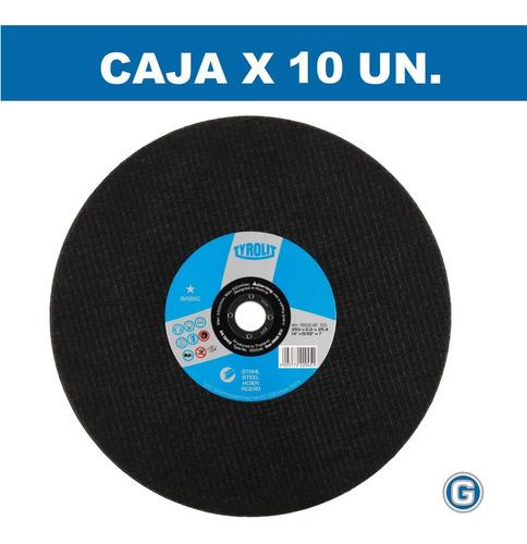 disco corte sensitiva tyrolit basic 350 x 2,8 x10 un gramabi