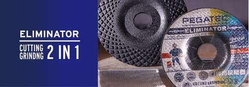 disco corte y desbaste 4 1/2 x1/8x7/8 multimaterial pegatec