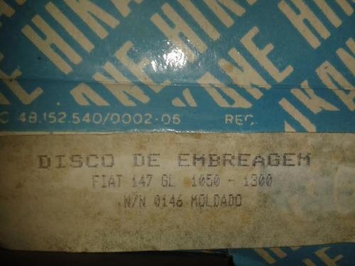 disco croche fiat 147 spazio, tucan, uno 1300