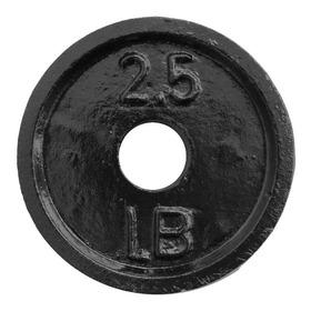 Disco De 2.5 Libras Para Mancuerna Barra Estandar