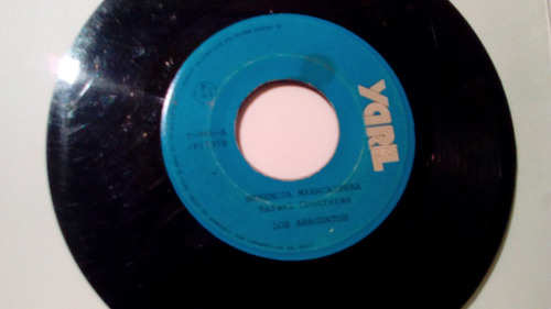 disco de 45 rpm de los araguatos 1978