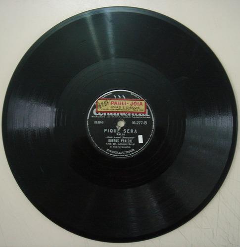 disco de 78 rpm - continental 16.277 - rubens peniche