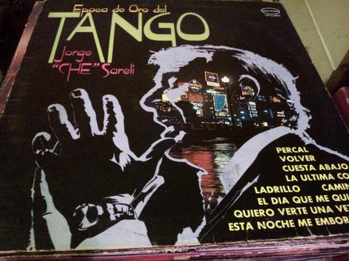 disco de acetato de epoca de oro del tango, jorge che sareli