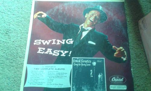 disco de acetato de swing easy, frank sinatra