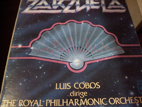 disco de acetato de zarzuela, luis cobos dirige the royal ph