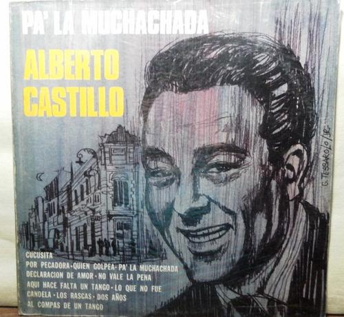 disco  de alberto castillo pa' la muchachada