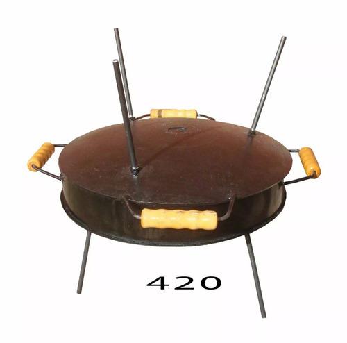 disco de arado original tapa bifera churrasquera p/ mechero