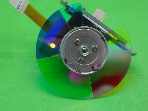 disco de cores para projetor benq mp515 novo