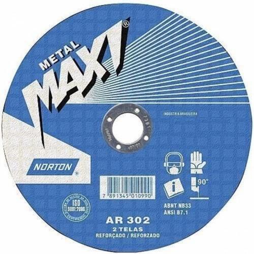 disco de corte - 10 x 1/8 x 5/8 - 2 telas