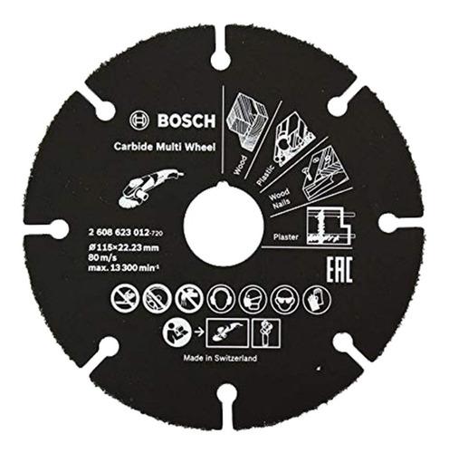 disco de corte amoladora bosch 115mm multimateria 2608623012