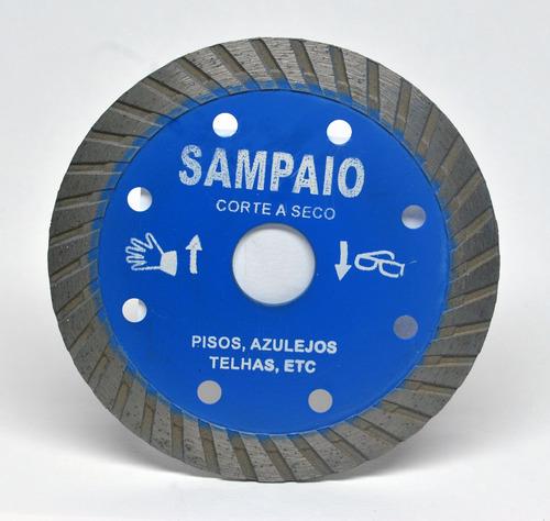 disco de corte azul turbo 110 x 20 x 2 mm sampaio