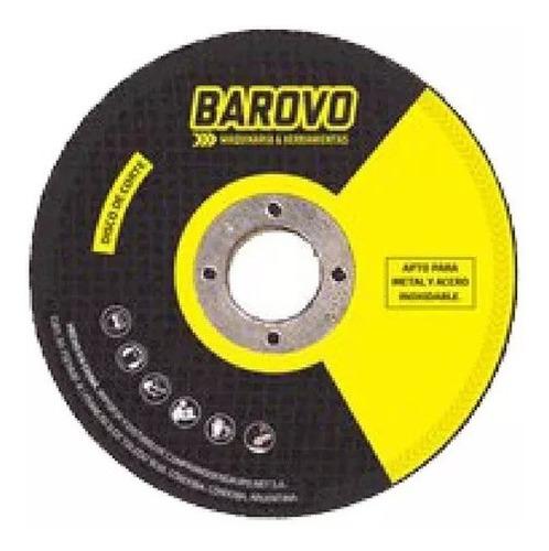 disco de corte barovo 115 x 1,6 x 22,3  metal y acero c60
