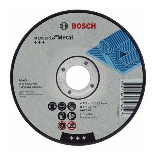 disco de corte bosch  bosch 115mm x 1.6mm para amoladora