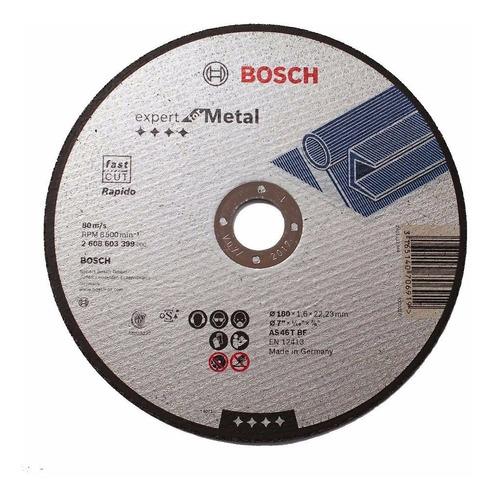 disco de corte bosch  bosch 180mm x 1.6mm para amoladora