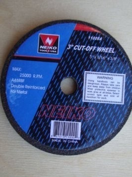disco de corte de 3 pulgadas para esmeril de aire neumatico