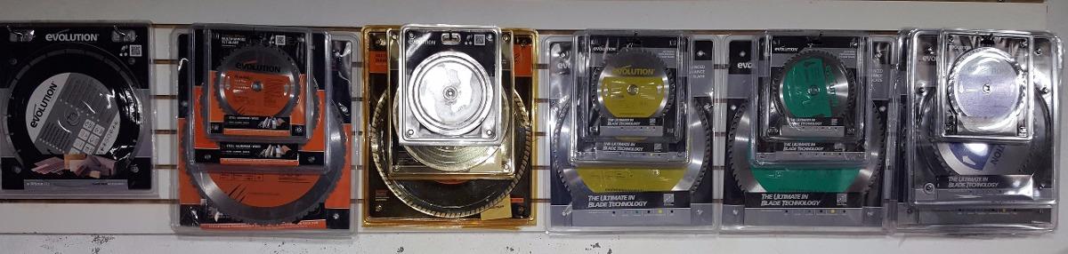 Disco de corte de aluminio marca evolution 7 inch - Disco corte aluminio ...