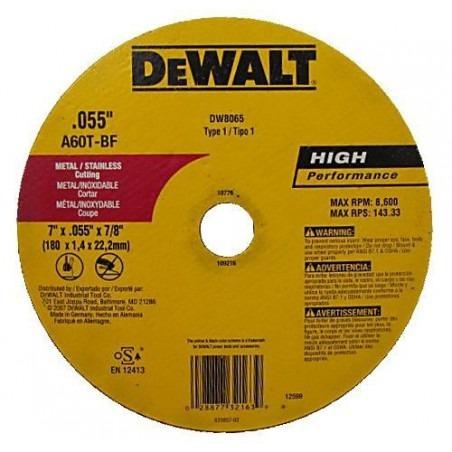 disco de corte de metal 7x0.55x7/8