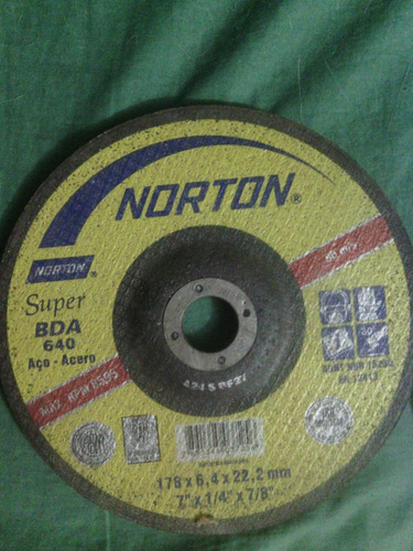 disco de corte desbaste ligero marca abracol y disco d acero