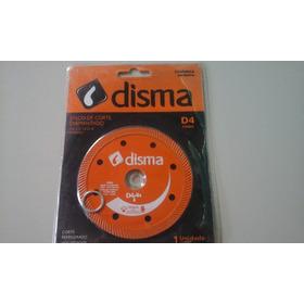 Disco De Corte Diamantado D4 Turbo, 105x20mm Disma Kit C/15u