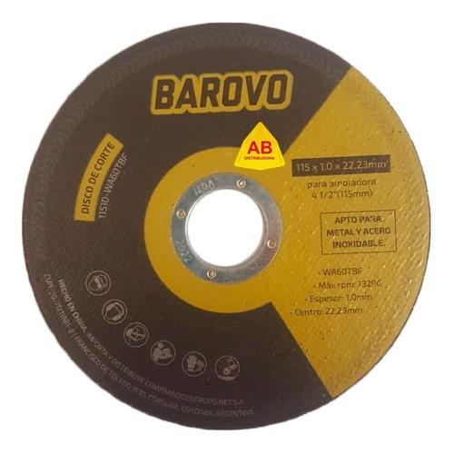 disco de corte metal amoladora 115 x 1,0 mm 25 unidades ab