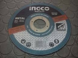 disco de corte para metal. corte fino 4/1/2 marca ingco.