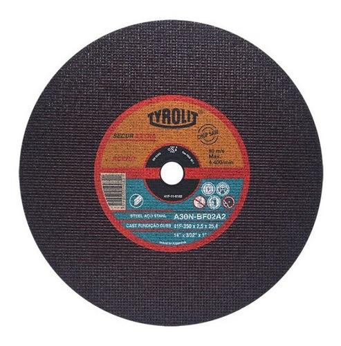 disco de corte tyrolit 350 x 3,0 mm x un.- sensitiva oferta!