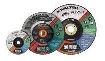 disco de desbaste 7 pol. flexcut grão 100 - walter