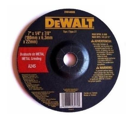 disco de desbaste para amoladora 180 mm 7   dewalt dw44608