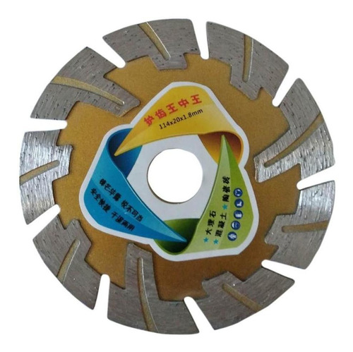 disco de diamante de hoja seca de 4.5 '', 16 mm-20 mm para