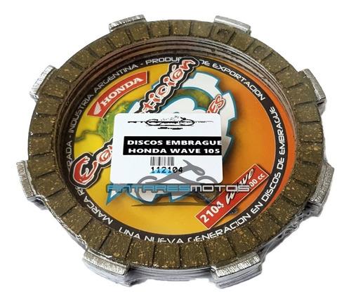 disco de embrague ar competicion honda wave biz 105 - 4 disc