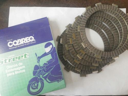 disco de embreagem do motor cobreq cg 125 ml turuna bolinha
